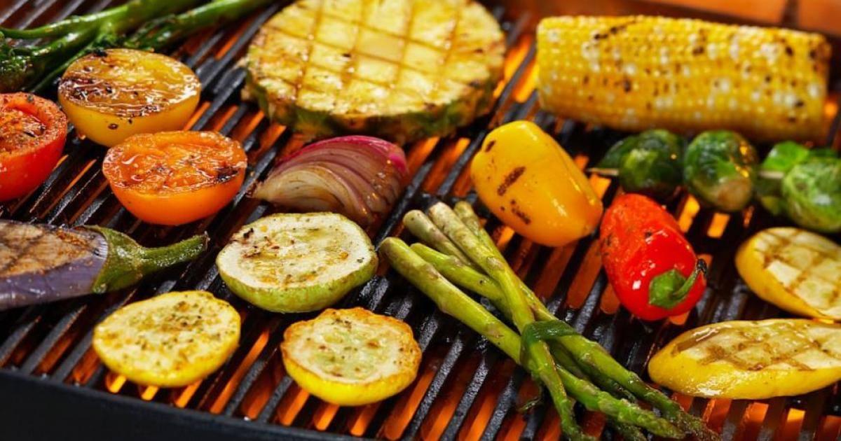 receitas vegetarianas para churrasco