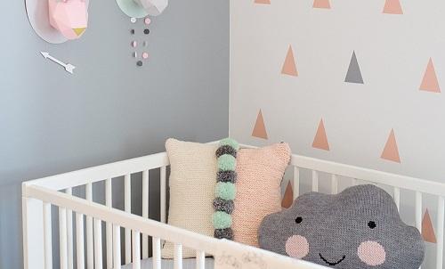 ideias pintar quartos de bebê