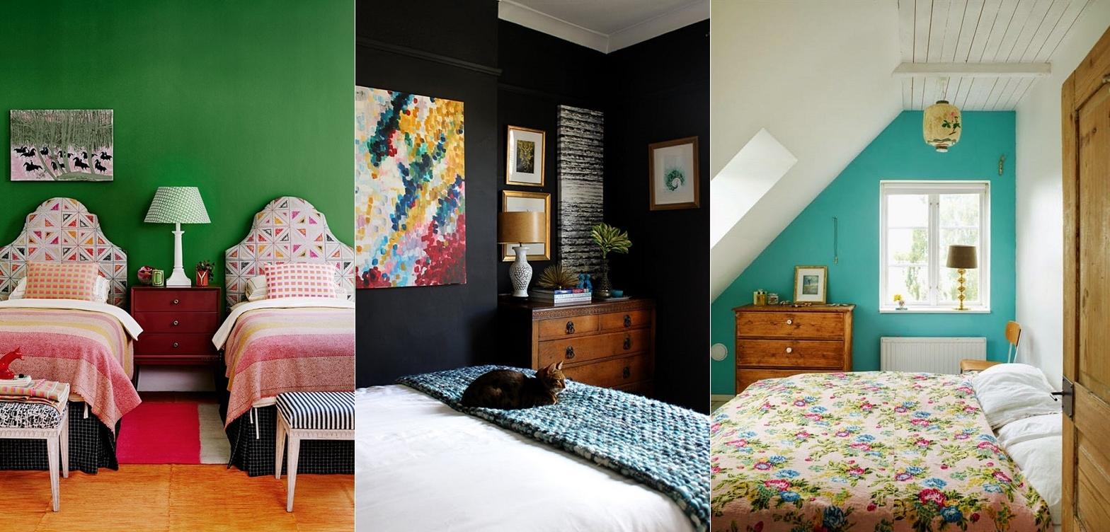 cores para quartos pequenos