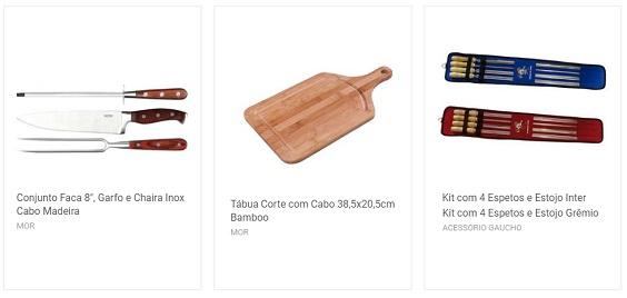 acessórios para churrasco