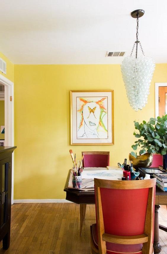 cores das paredes sala de jantar