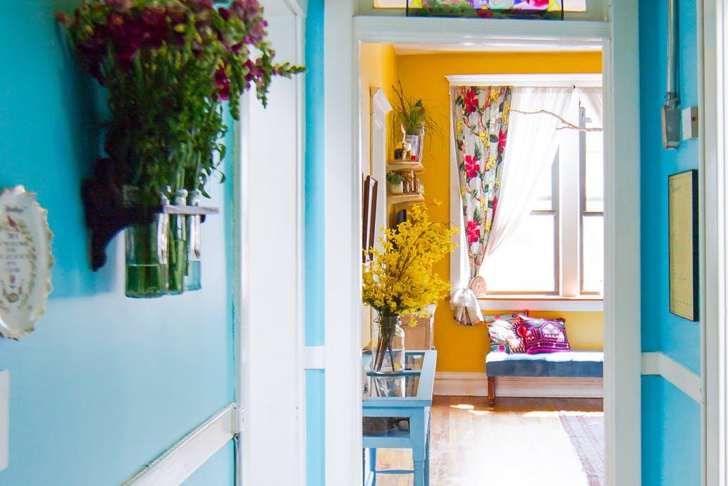 cores das paredes