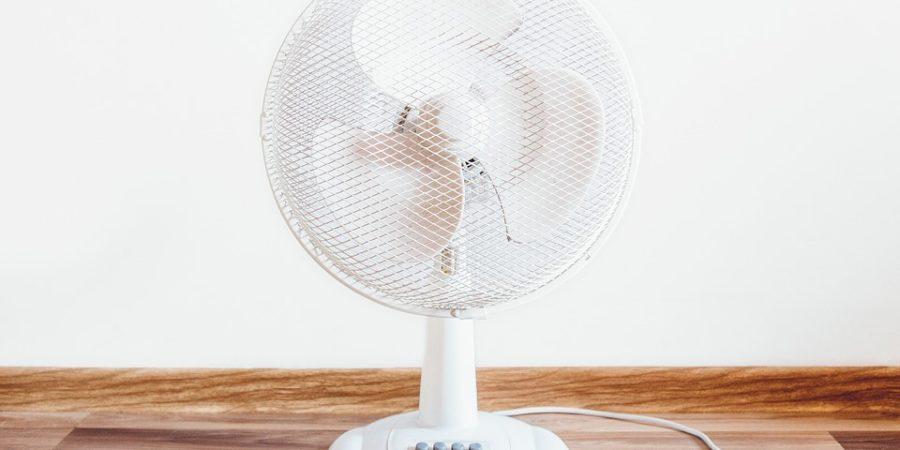 como usar ventilador e refrescar
