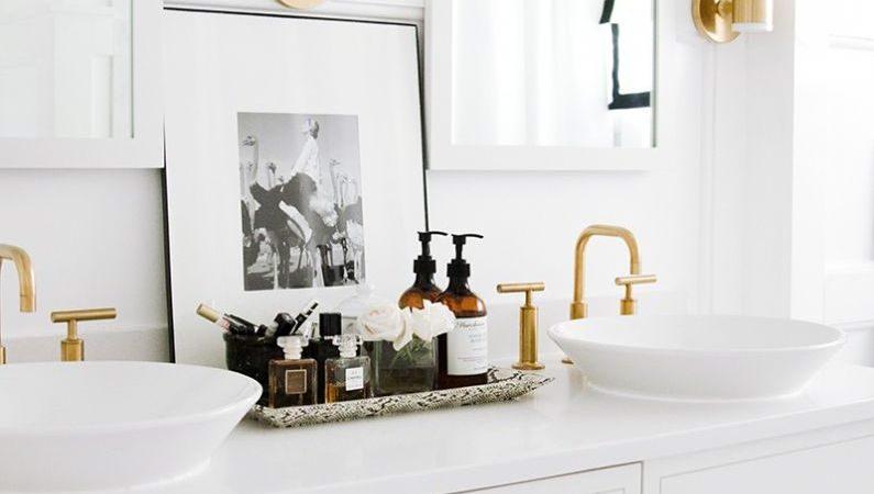 decoração fácil cuba para banheiro