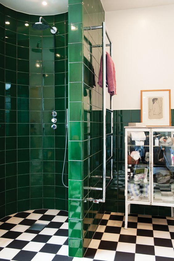 decoração fácil banheiro toalheiro térmico