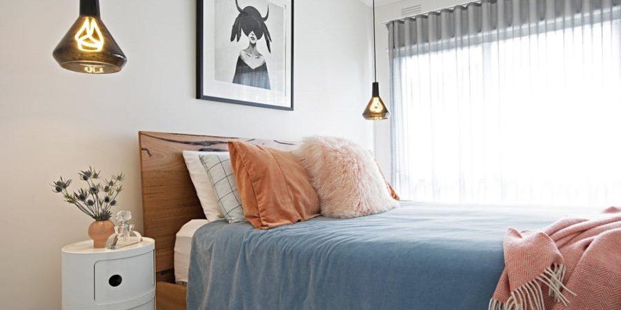 iluminação residencial quarto