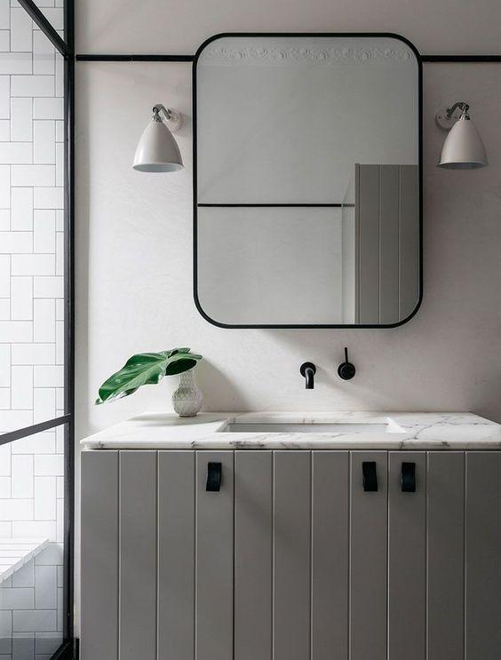 iluminação residencial banheiro