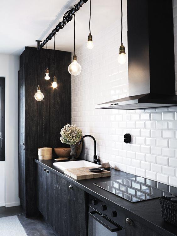 iluminação residencial cozinha pendentes