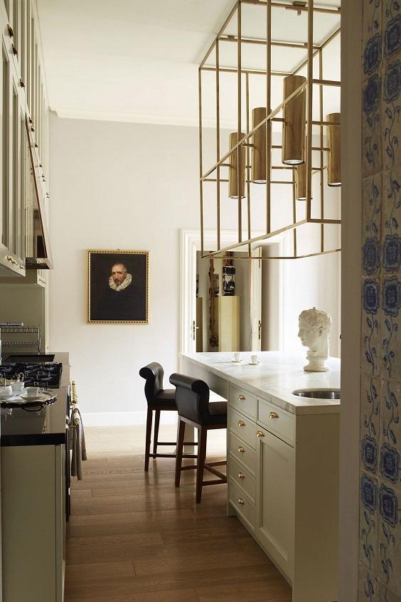 iluminação da cozinha pendentes forma