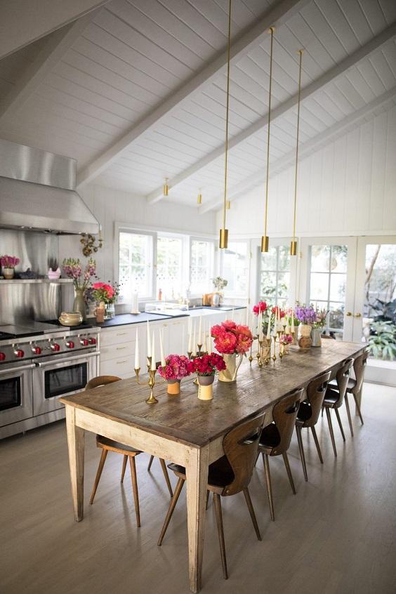iluminação da cozinha pendentes minimalistas