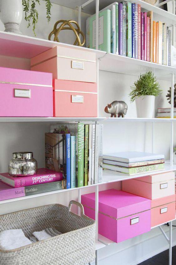 caixas organizadoras ideias apartamento pequeno