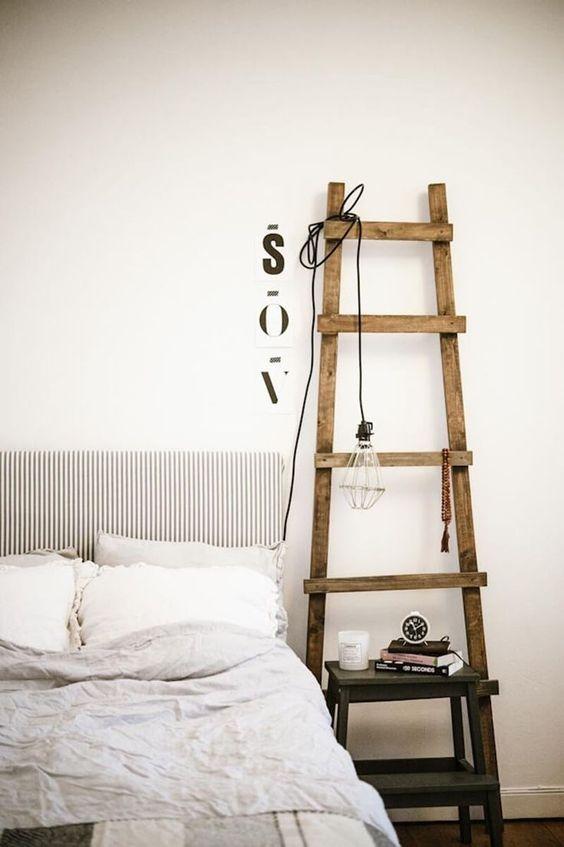 escada na decoração ideia apartamento pequeno
