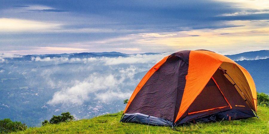 checklist de acampamento