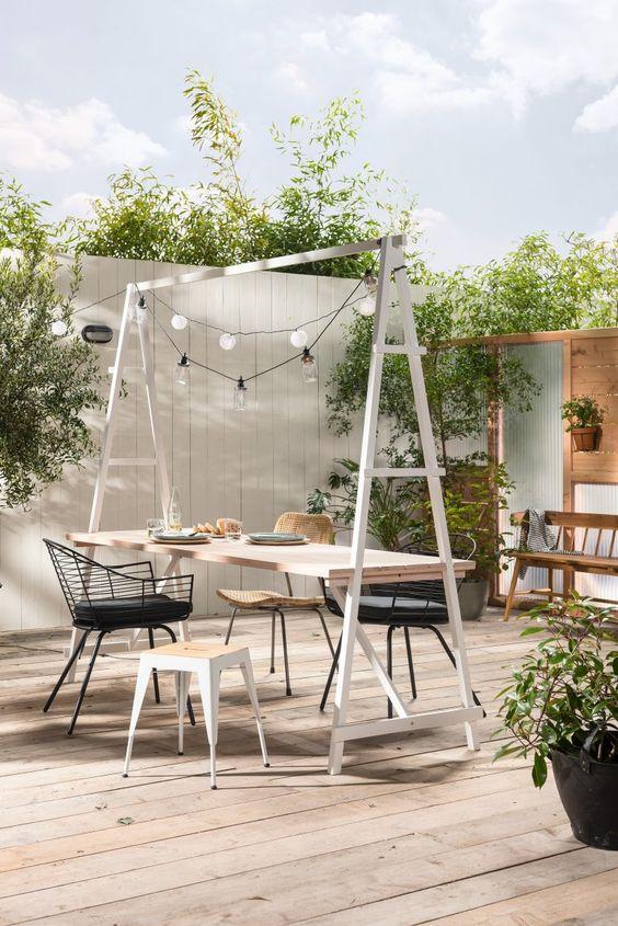 ideias quintal pequeno churras