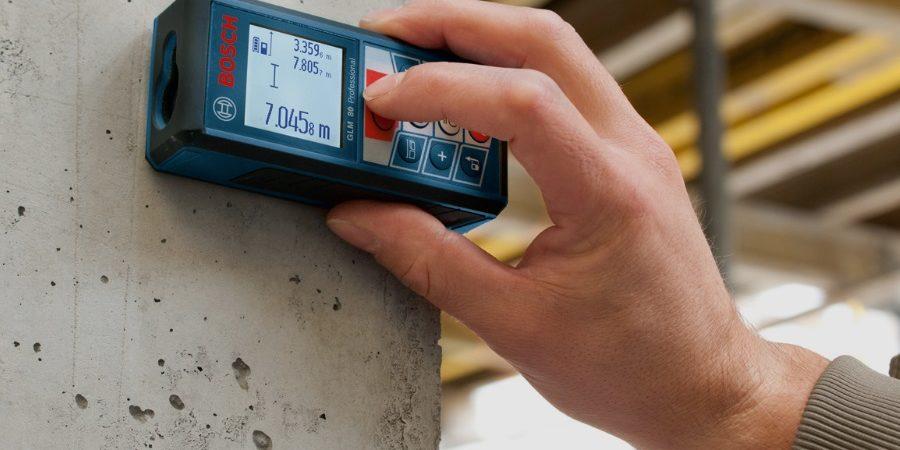 trena digital medidor de distância a laser