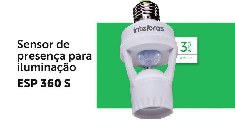 sensor de presença com soquete intelbras como usar