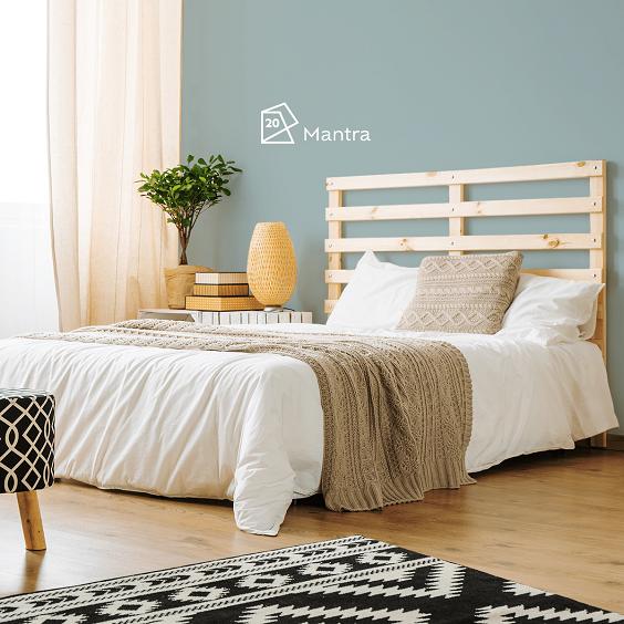 mantra cor de parede para relaxar