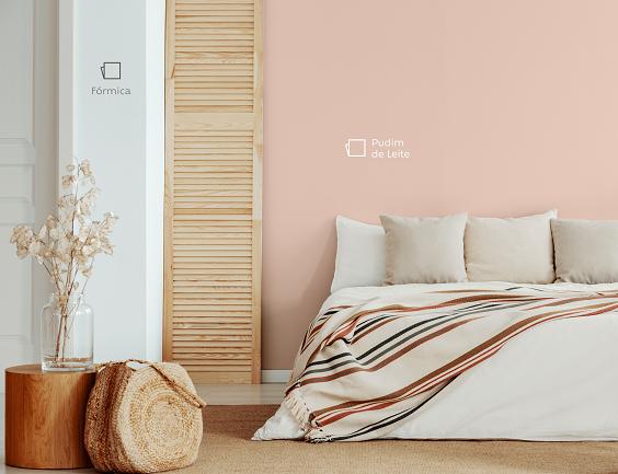 cor de parede para um quarto aconchegante