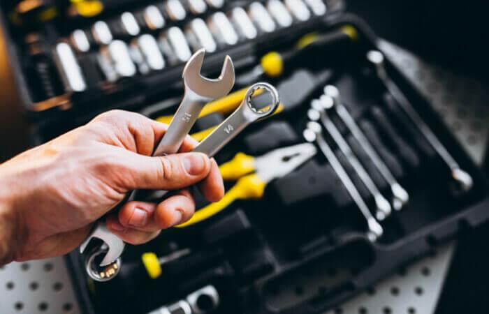Como organizar ferramentas