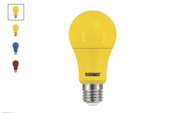 Lâmpadas Coloridas LED TKL Colors