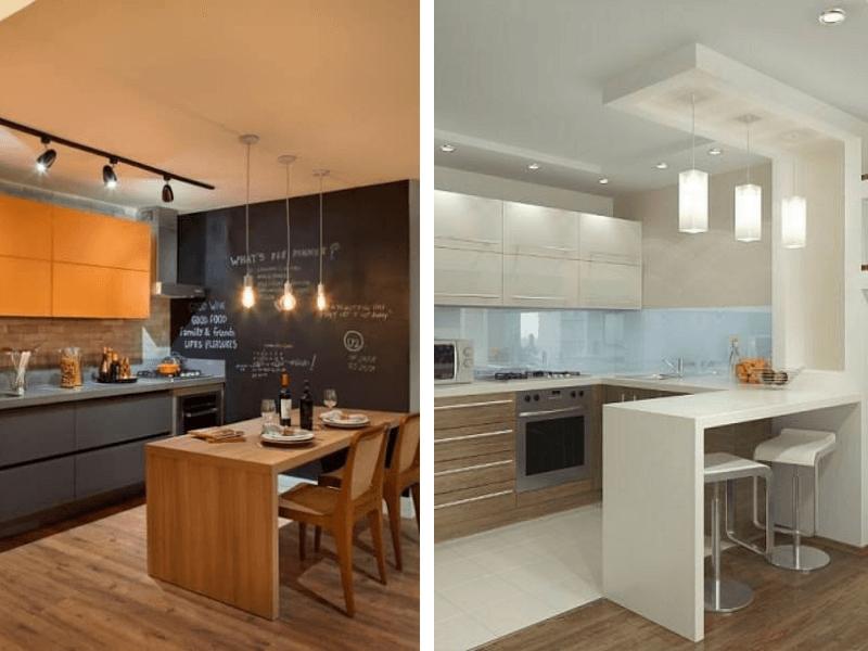 Iluminação de cozinha