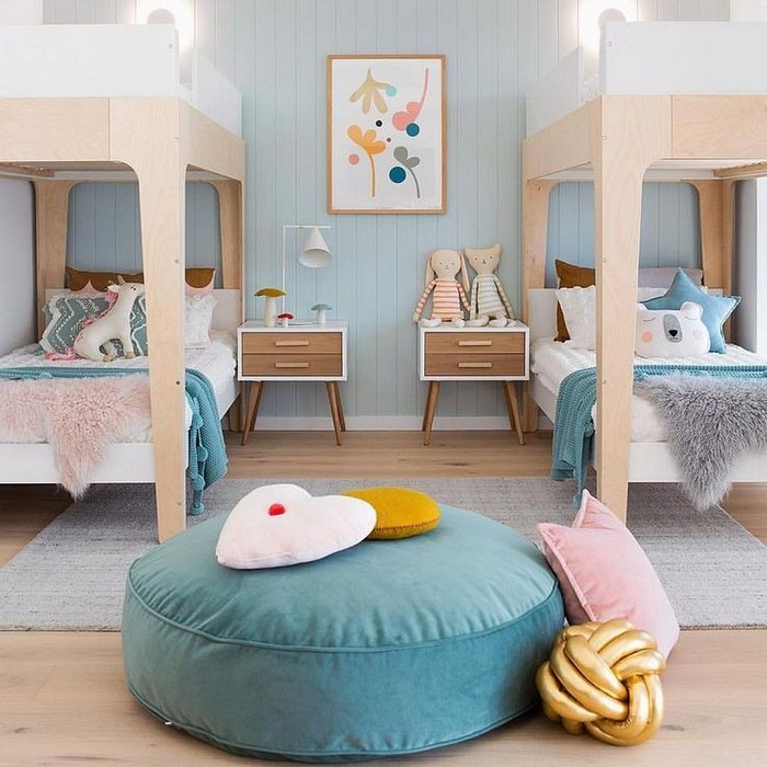 decoração clean quarto infantil