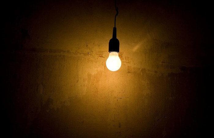 Lâmpada LED ou fluorescente