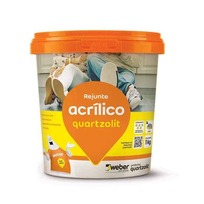 Rejunte Acrílico Quartzolit