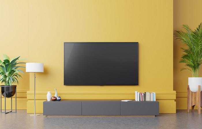 suporte de televisão posição ideal para instalar