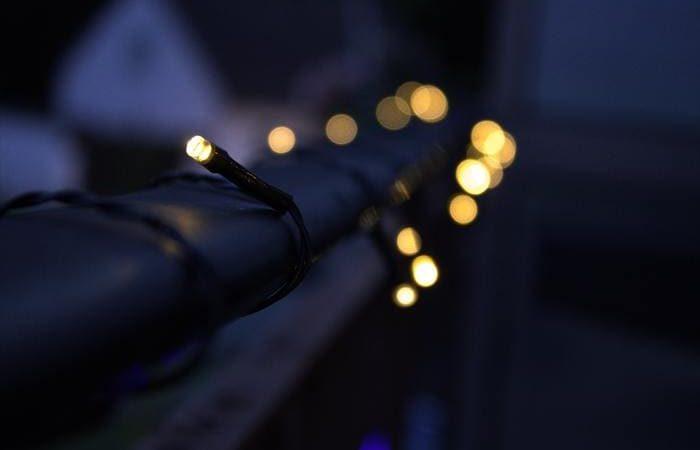 Iluminação de varanda