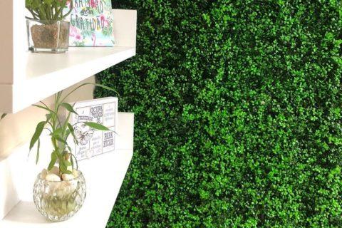 painel verde artificial